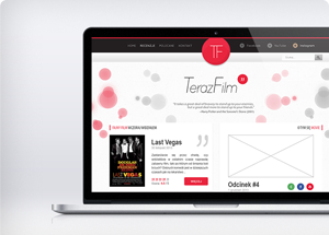 TerazFilm'' - Logo and website