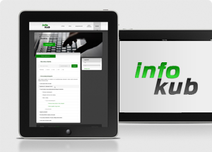 Infokub - Website design and implementation